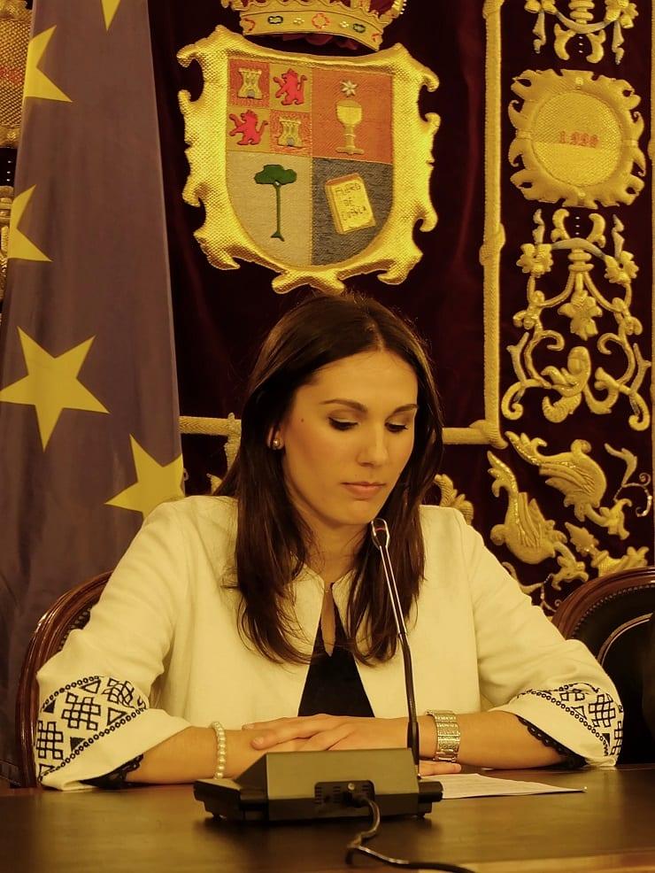Paula Crespo, premio Conquense Excelente