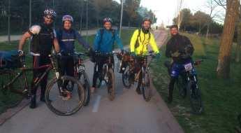 Salida de Sweat4Success en bicicleta
