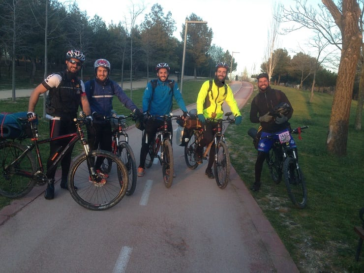 Salida de Sweat4Success en bicicleta
