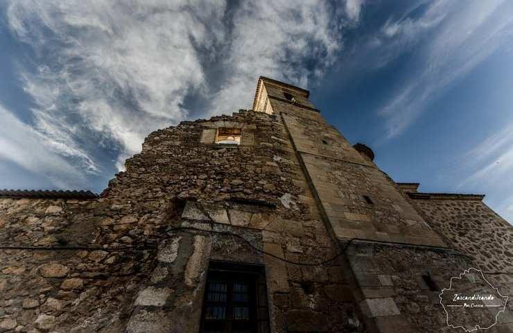 Iglesia de Santa Maria Magdalena en Villarejo de Fuentes