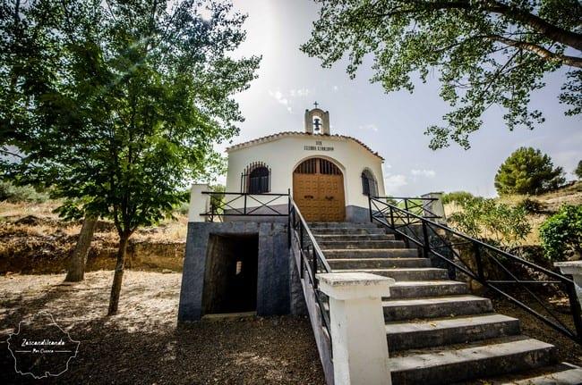 Ermita de San Isidro en Olivares de Júcar