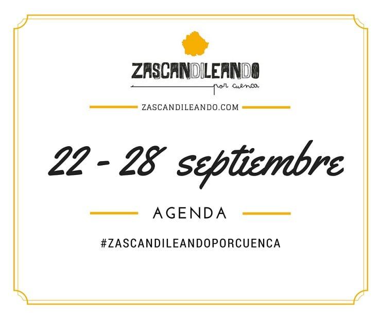 Agenda del 22 al 28 de septiembre de 2016 en Cuenca