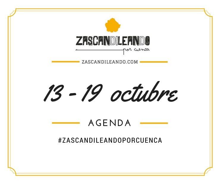Agenda del 13 al 19 de octubre de 2016 en Cuenca