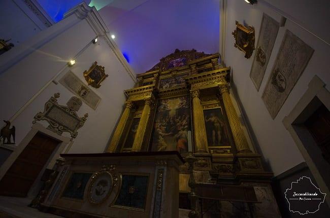 Capilla del Espíritu Santo, en la Catedral de Cuenca