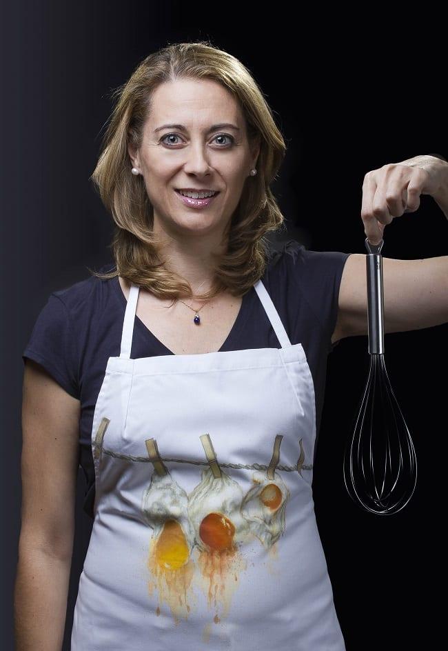 Susana para batir huevos fritos