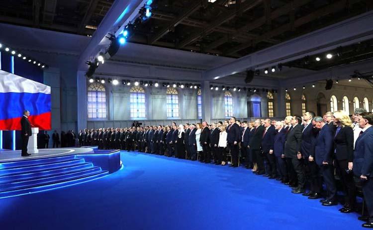 Выступление Президента РФ перед Федеральным Собранием