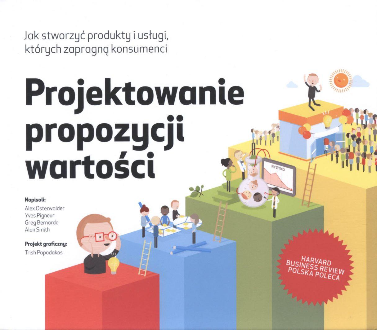 """O książce """"Projektowanie propozycji wartości"""" Aleksa Osterwaldera 1"""