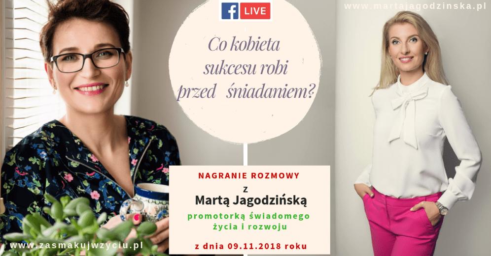 Co Marta Jagodzńska robi