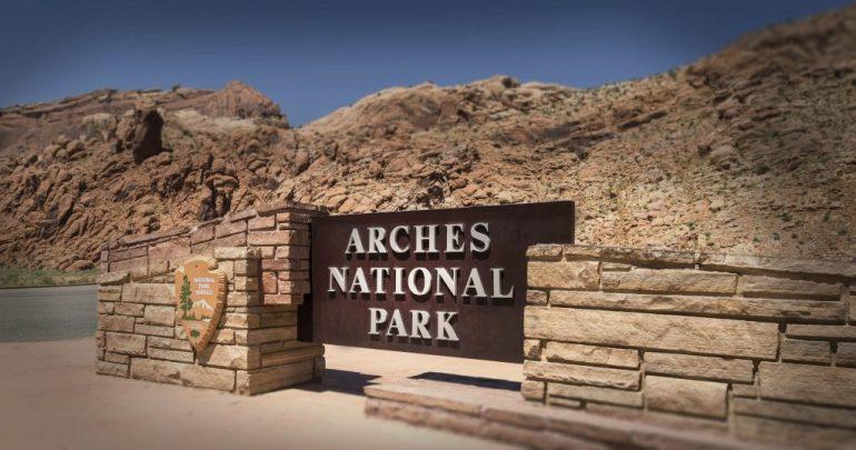 Entrée - Arches NP