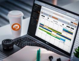 laptop_calenrier_apllication planning motion_calendar