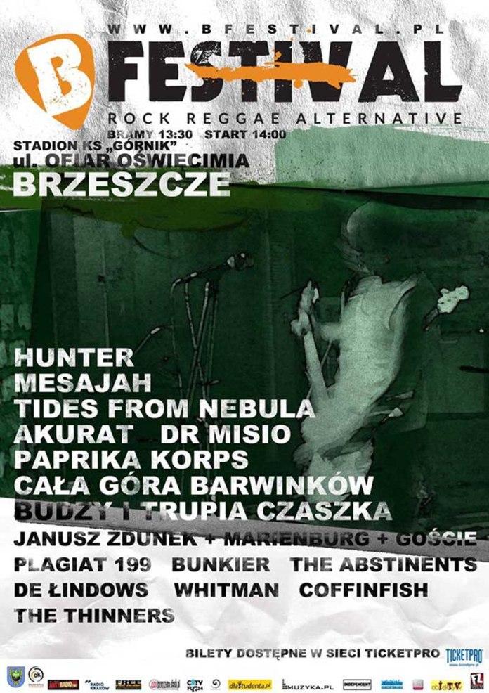 B-Festival Brzeszcze 2014 - Hunter, Mesajah, Akurat i inni
