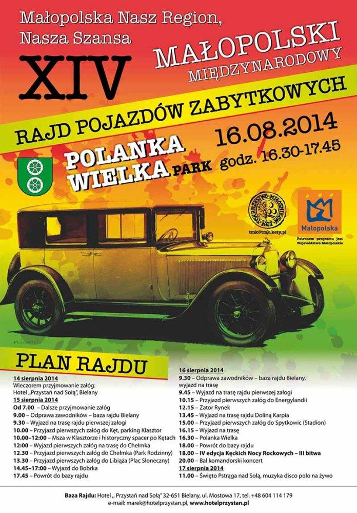 XIV Małopolski Międzynarodowy Rajd Pojazdów Zabytkowych