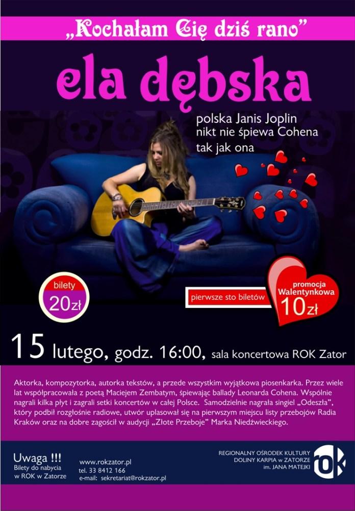 koncert Eli Dębskiej ROK Zator