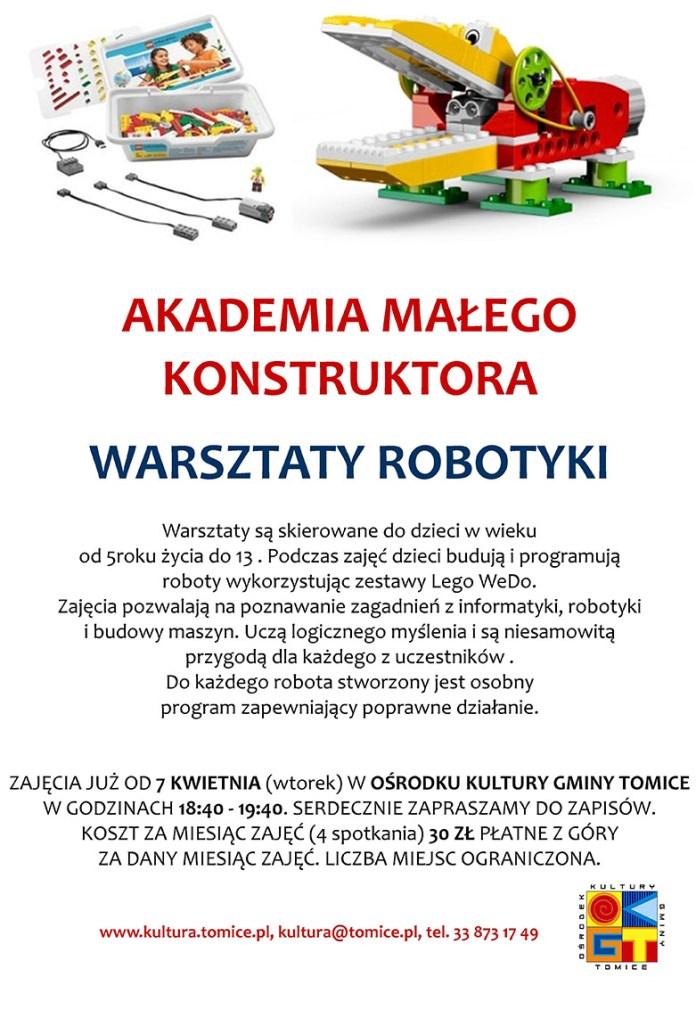 zajęcia z robotyki dla dzieci