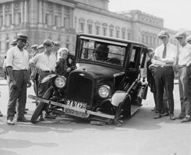 zatrzymanie prawa jazdy za spowodowanie wypadku