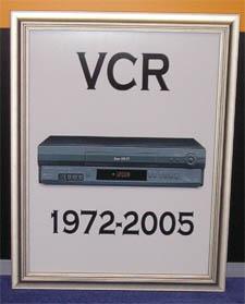 VCR Headstone