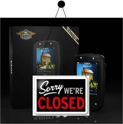 slacker g2 closed