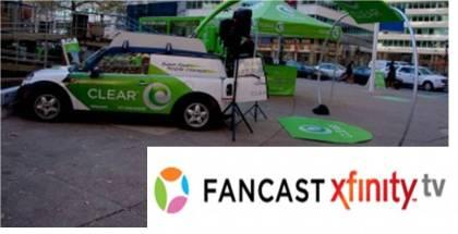 Clear WiMAX Fancast Xfinity