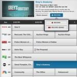 Comcast Xfinity TV iPad app guide listings