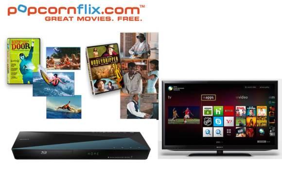 PopcornFlix on Sony