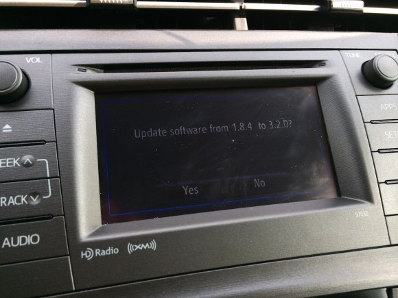 How To Update Toyota Entune