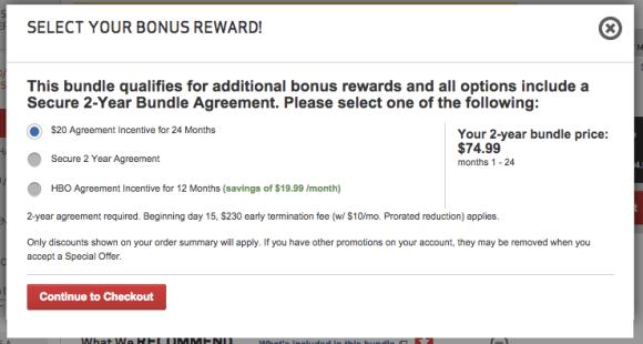 Check Your Fios Contract For Bonus Rewards