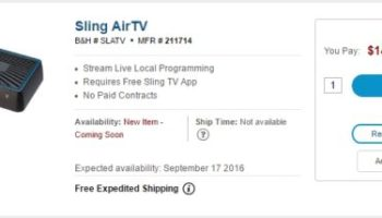 AirTV Unifies Sling TV, Netflix & OTA