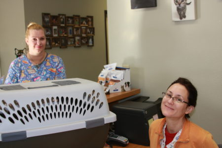 Staff at Acoma Animal Clinic