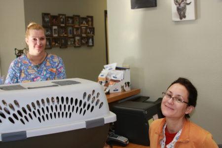 Staff at Acoma Animal Clinic