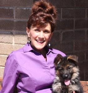 Training German Shepherd puppy come command