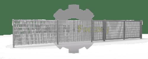 656, 868, Industriezaun, Zaun, Gewerbe, Schiebetor, Flügeltor, Pforte