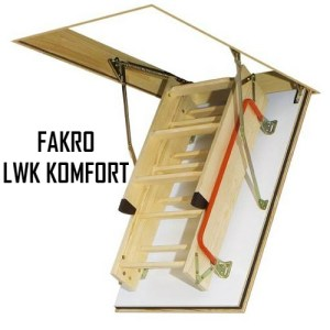 Чердачная лестница FAKRO LWK KOMFORT 60-120-280 - ZAVODKM