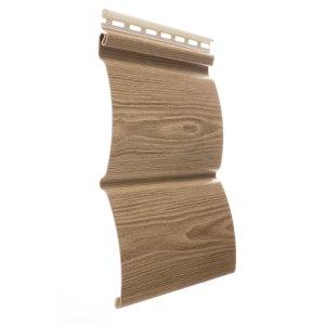 Сайдинг блок-хаус WoodSlide - цвет Орех - ZAVODKM