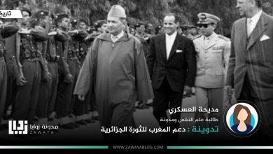 دعم المغرب للثورة الجزائرية