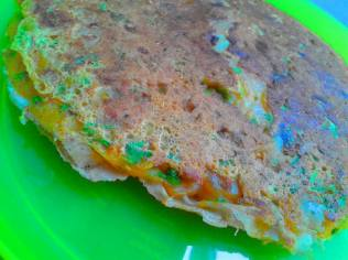 Leftover Roti Stuffed Parantha 2