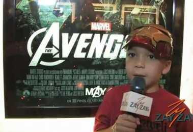 The Avengers Premiere - ZayZay.Com