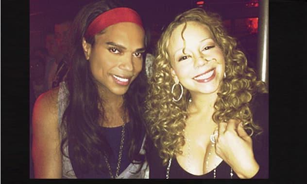 Mariah Carey Parties Until 2 a.m. at West Hollywood Gay Bar!