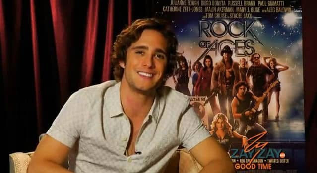 Diego Boneta - Rock Of Ages - ZayZay.Com