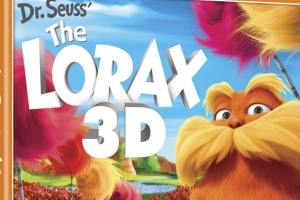 --CLOSED--The Lorax DVD in 3D - TAKE HOME YOUR  NUMBER 1 ANIMATED FILM OF THE YEAR!--CLOSED--
