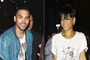 Chris Brown Sneaks a Peek at Rihanna While Partying at Same N.Y.C. Club