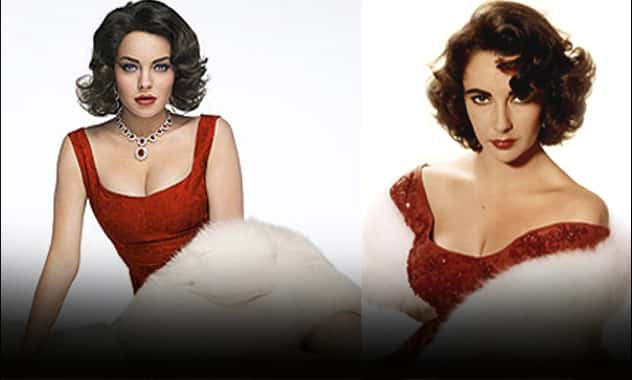 The Secrets Behind Lindsay Lohan's Elizabeth Taylor Transformation 2