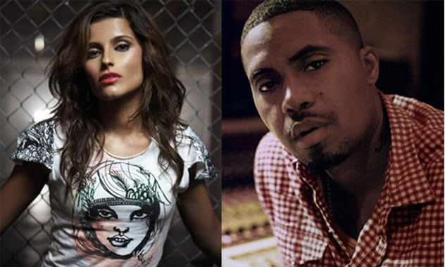 Nelly Furtado And Nas Team Up for 'Something'