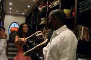 Is Kanye West Controlling Kim Kardashian?: Rapper Overhauls Star's Wardrobe (VIDEO)