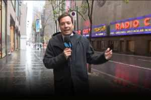 Hurricane Sandy Couldn't Stop Jimmy Fallon 2