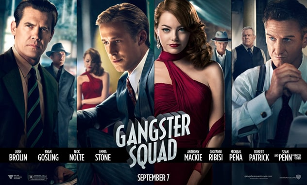 Gangster Squad - Trailer & Poster - Just Released