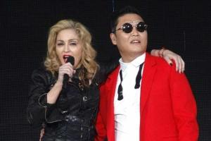 Madonna & 'Gangnam Style': Psy Joins Material Girl On Stage In New York