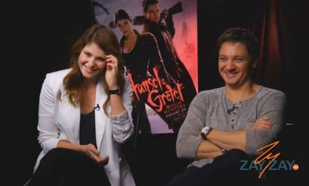 Hansel & Gretel: Witch Hunters - Jeremy Renner, Gemma Arterton Interview - ZayZay.Com