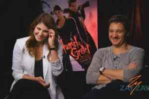 Hansel & Gretel: Witch Hunters - Jeremy Renner, Gemma Arterton Interview - ZayZay.Com