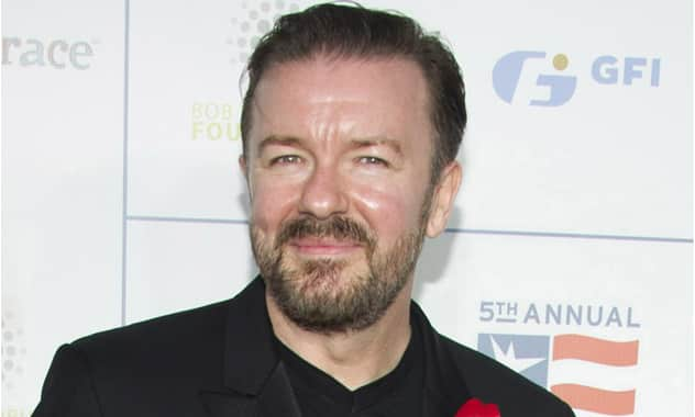 Ricky Gervais Gets In Trouble For Anti-Immigrant Tweet