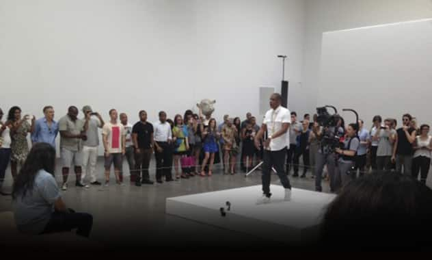 Jay-Z performs 'Picasso Baby' for 6 straight hours in New York art gallery  2